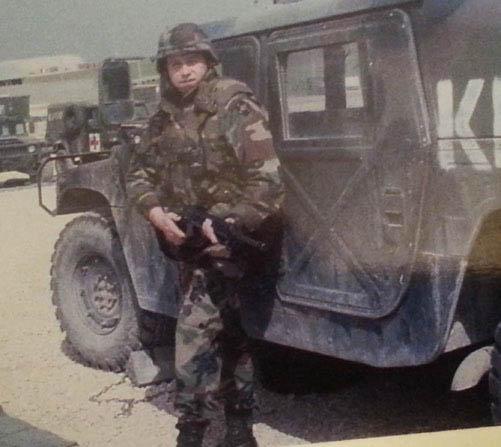 Bill Kosovo deployed